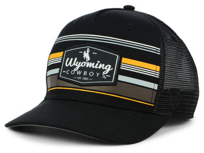 Wyoming Cowboys Top of the World NCAA Top Route Trucker Cap