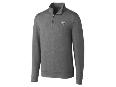 Philadelphia Eagles Cutter & Buck NFL Men's Shoreline Half Zip Jacket