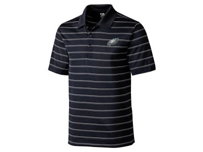 Philadelphia Eagles Cutter & Buck NFL Men's Franklin Stripe Polo