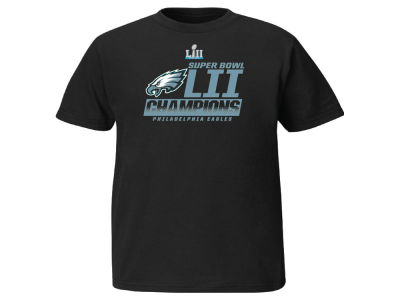 Philadelphia Eagles Majestic NFL Youth Super Bowl LII Fanfare T-Shirt