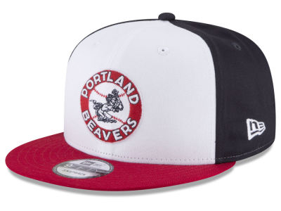 Portland Beavers New Era MiLB Hometown 9FIFTY Snapback Cap