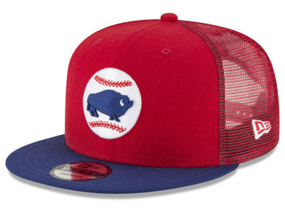 Buffalo Bisons New Era MiLB Trucker 9FIFTY Snapback Cap