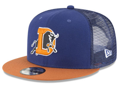 Durham Bulls New Era MiLB Trucker 9FIFTY Snapback Cap