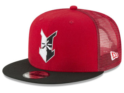 Indianapolis Indians New Era MiLB Trucker 9FIFTY Snapback Cap