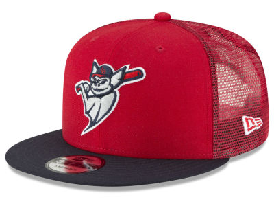 Louisville Bats New Era MiLB Trucker 9FIFTY Snapback Cap