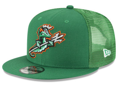 Norfolk Tides New Era MiLB Trucker 9FIFTY Snapback Cap