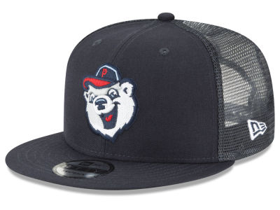 Pawtucket Red Sox New Era MiLB Trucker 9FIFTY Snapback Cap