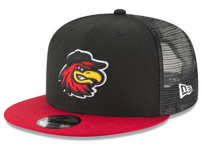 Rochester Red Wings New Era MiLB Trucker 9FIFTY Snapback Cap