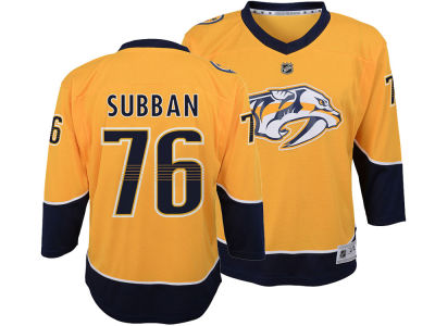 Nashville Predators P.K. Subban NHL Branded NHL Youth Player Replica Jersey