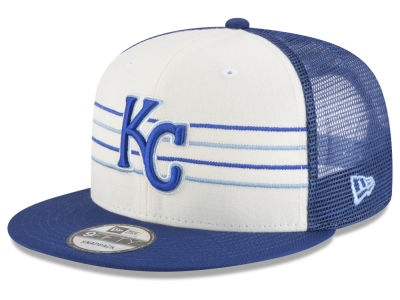 Kansas City Royals New Era MLB Vintage Stripe 9FIFTY Snapback Cap