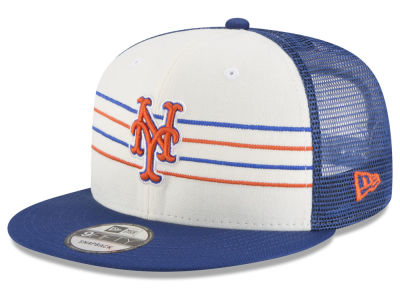 New York Mets New Era MLB Vintage Stripe 9FIFTY Snapback Cap