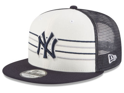 New York Yankees New Era MLB Vintage Stripe 9FIFTY Snapback Cap