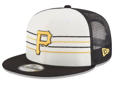 Pittsburgh Pirates New Era MLB Vintage Stripe 9FIFTY Snapback Cap
