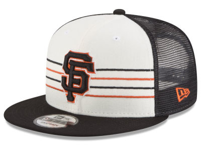 San Francisco Giants New Era MLB Vintage Stripe 9FIFTY Snapback Cap