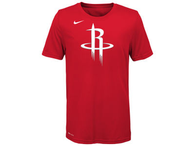 Houston Rockets NBA Youth Logo Dri-Fit T-Shirt