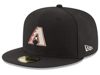 Arizona Diamondbacks New Era MLB Black Red Out 59FIFTY Cap
