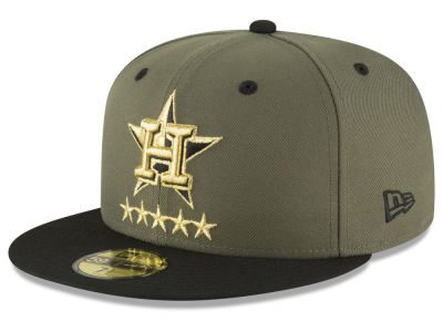Houston Astros New Era MLB 5-Star 59FIFTY Cap