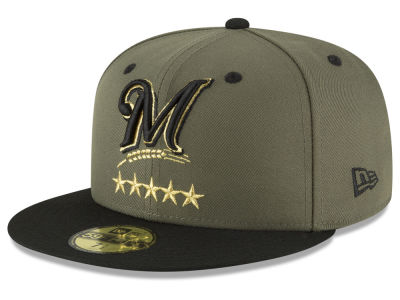 Milwaukee Brewers New Era MLB 5-Star 59FIFTY Cap