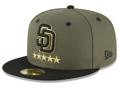 San Diego Padres New Era MLB 5-Star 59FIFTY Cap