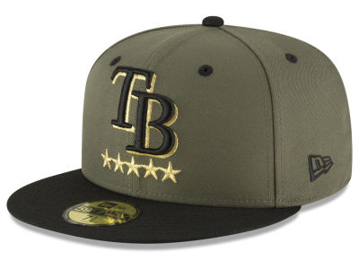 Tampa Bay Rays New Era MLB 5-Star 59FIFTY Cap