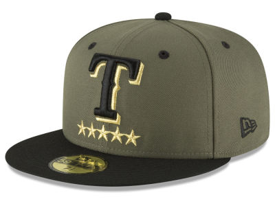 Texas Rangers New Era MLB 5-Star 59FIFTY Cap