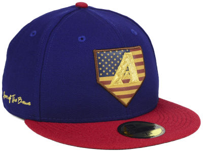 Arizona Diamondbacks New Era MLB Home Of The Brave 59FIFTY Cap