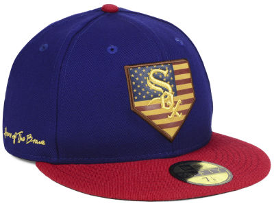 Chicago White Sox New Era MLB Home Of The Brave 59FIFTY Cap