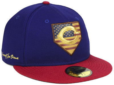 Cincinnati Reds New Era MLB Home Of The Brave 59FIFTY Cap
