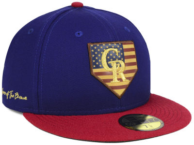 Colorado Rockies New Era MLB Home Of The Brave 59FIFTY Cap