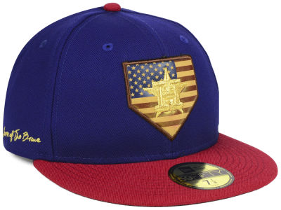 Houston Astros New Era MLB Home Of The Brave 59FIFTY Cap
