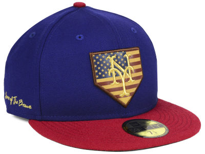 New York Mets New Era MLB Home Of The Brave 59FIFTY Cap