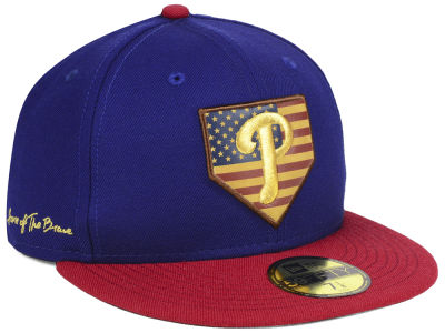 Philadelphia Phillies New Era MLB Home Of The Brave 59FIFTY Cap