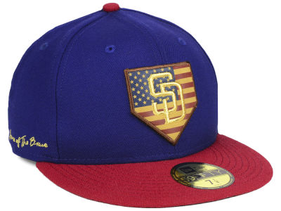 San Diego Padres New Era MLB Home Of The Brave 59FIFTY Cap