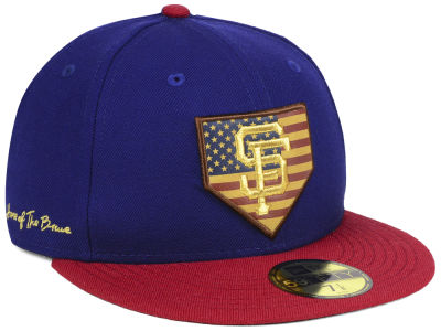 San Francisco Giants New Era MLB Home Of The Brave 59FIFTY Cap