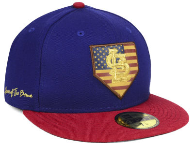 St. Louis Cardinals New Era MLB Home Of The Brave 59FIFTY Cap