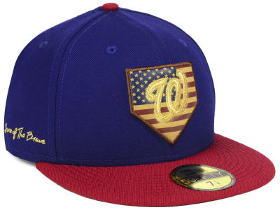 Washington Nationals New Era MLB Home Of The Brave 59FIFTY Cap