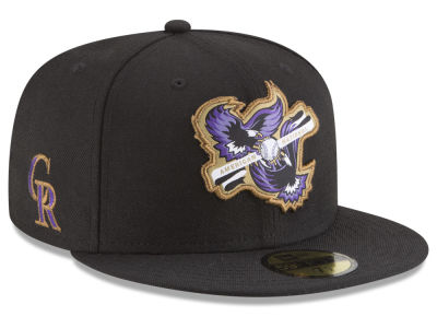 Colorado Rockies New Era MLB Inter Americana 59FIFTY Cap