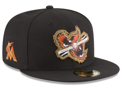 Miami Marlins New Era MLB Inter Americana 59FIFTY Cap