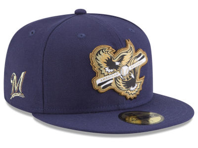 Milwaukee Brewers New Era MLB Inter Americana 59FIFTY Cap