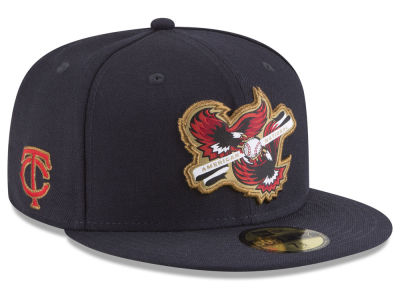 Minnesota Twins New Era MLB Inter Americana 59FIFTY Cap