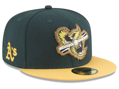Oakland Athletics New Era MLB Inter Americana 59FIFTY Cap