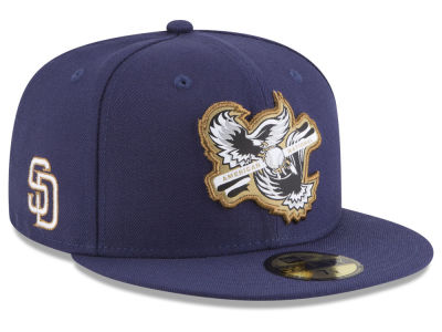San Diego Padres New Era MLB Inter Americana 59FIFTY Cap