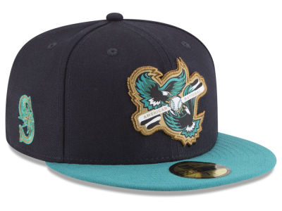 Seattle Mariners New Era MLB Inter Americana 59FIFTY Cap