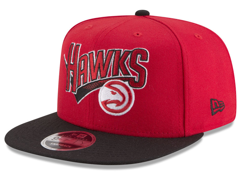 best loved 85424 785cf ... inexpensive atlanta hawks new era nba retro tail 9fifty snapback cap  cd8c7 1b0f0
