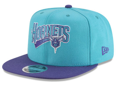 Charlotte Hornets New Era NBA Retro Tail 9FIFTY Snapback Cap