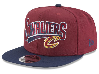 Cleveland Cavaliers New Era NBA Retro Tail 9FIFTY Snapback Cap