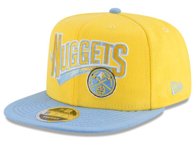 Denver Nuggets New Era NBA Retro Tail 9FIFTY Snapback Cap
