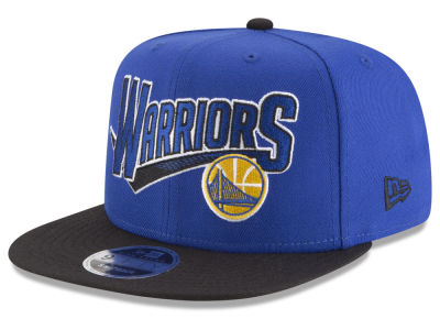 Golden State Warriors New Era NBA Retro Tail 9FIFTY Snapback Cap
