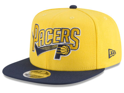 Indiana Pacers New Era NBA Retro Tail 9FIFTY Snapback Cap