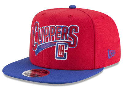 Los Angeles Clippers New Era NBA Retro Tail 9FIFTY Snapback Cap